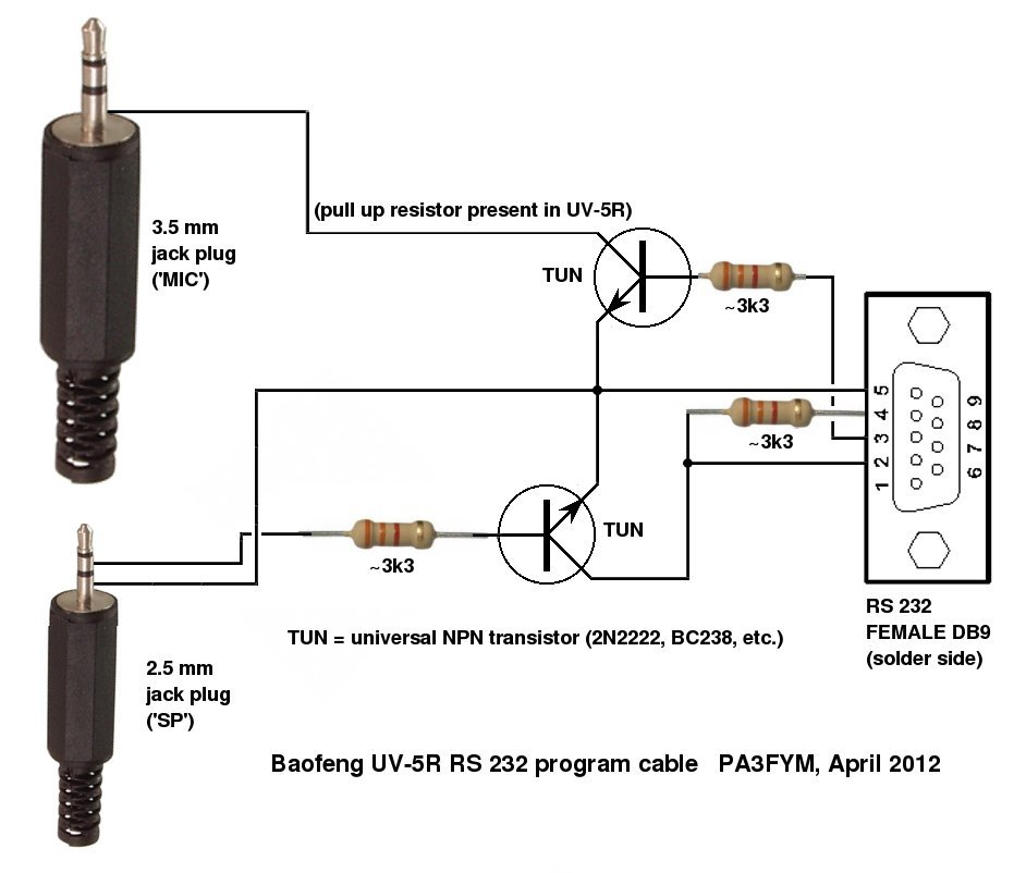 Uv R Interface on Kenwood Radio Wiring Diagram
